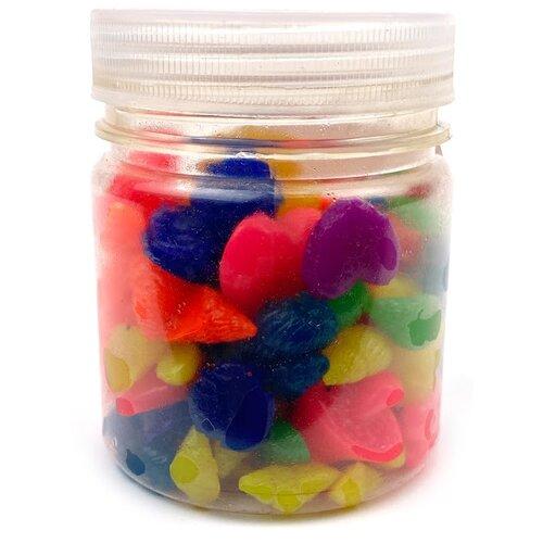Гидрогелевые шарики-фигурки, в банке (микс)