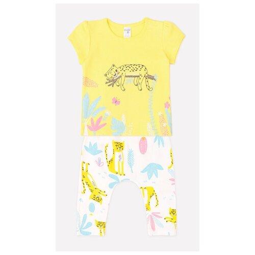 Фото - Комплект одежды crockid размер 74, желтый/белый комплект одежды crockid размер 74 белый розовый