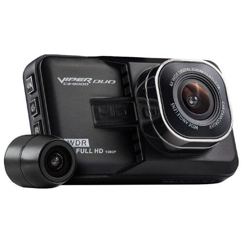 Видеорегистратор VIPER 9000 Duo, 2 камеры черный