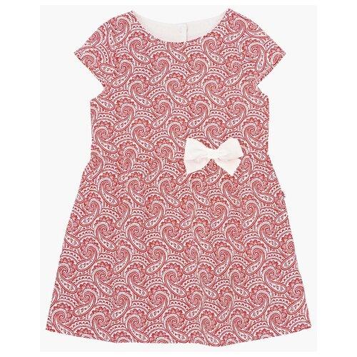 Платье Mini Maxi размер 104, красный платье oodji ultra цвет красный белый 14001071 13 46148 4512s размер xs 42 170
