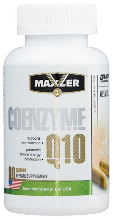 Коэнзим Q10 Maxler Coenzyme Q10 (90 капсул) — купить по выгодной цене на Яндекс.Маркете