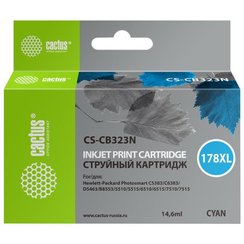 Картридж cactus CS-CB323N 178XL, совместимый картридж cactus cs cb435ar совместимый