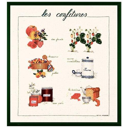 Купить Набор для вышивания: CONFITURE (Конфитюр) Le Bonheur des Dames, 40*46 1182, Наборы для вышивания