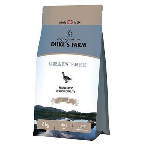 Сухой корм для собак DUKE'S FARM утка 2 кг