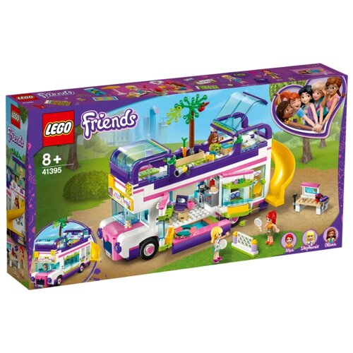 цена на Конструктор LEGO Friends 41395 Автобус для друзей