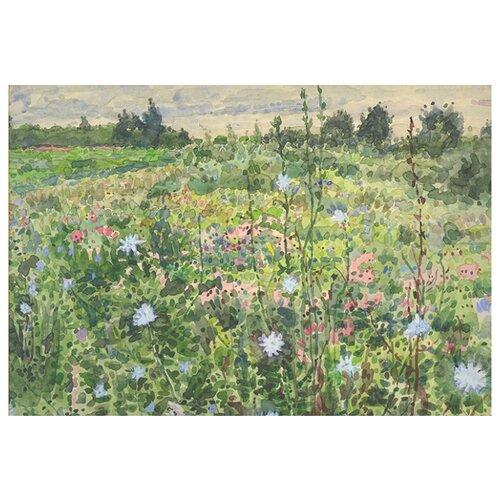 Купить Скетчбук Весенние цветы, Канц-Эксмо, Альбомы для рисования