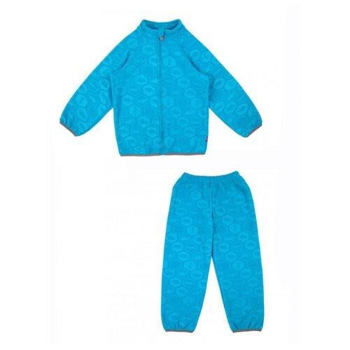 Купить Комплект термобелья Reike Grizzly WL-64 размер 98, синий, Термобелье