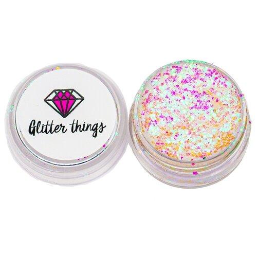 Glitter Things Гель-блестки для лица и тела Барби