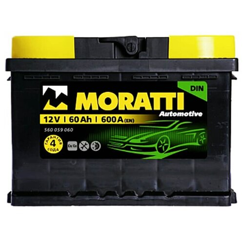 MORATTI Аккумуляторная батарея автомобильная 60 A/h обратная полярность