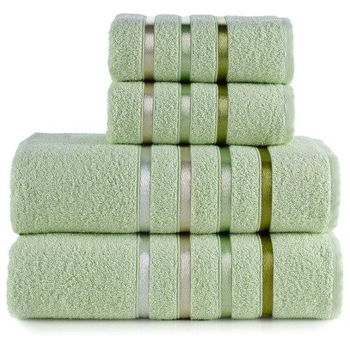 KARNA Комплект полотенец Bale светло-зеленый комплект полотенец томдом бунвисто зеленый