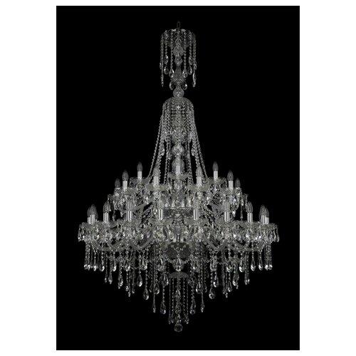Фото - Люстра Bohemia Ivele Crystal 1415 1415/20+10+5/400/XL-185/2d/Ni, E14, 1400 Вт люстра bohemia ivele crystal 1415 1415 20 10 5 400 xl 180 3d g e14 1400 вт