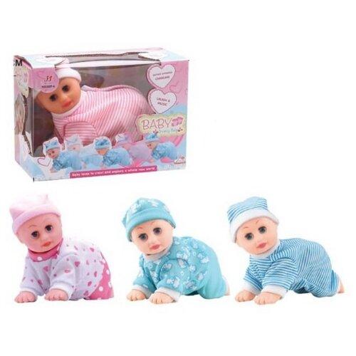 Пупс Junfa Baby ползающий, 3327-6 пупс junfa toys baby so lovely 1911 3