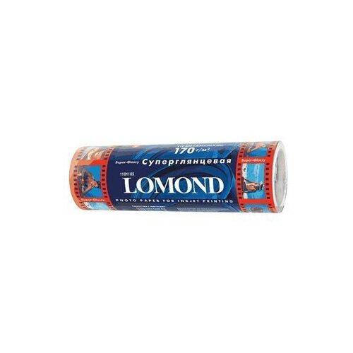 Бумага в рулоне Lomond суперглянцевая 210 мм х 508 мм 170 г/м2 8 метров