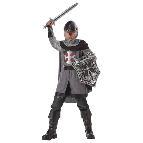 Купить Костюм California Costumes Убийца драконов 00276, черный/серый, размер XL (12-14 лет), Карнавальные костюмы