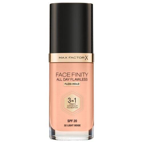 Max Factor Тональный крем Facefinity All Day Flawless 3-in-1, 30 мл, оттенок: 32 light beige