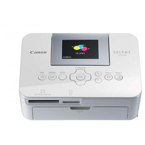 Фото - Принтер Canon Selphy CP1000 белый canon selphy cp1300 черный