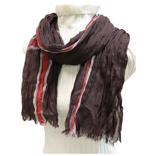 Шарф Crystel Eden 9073 коричневый шарф шерстяной ручная работа коричневый шарф шерстяной ручная работа коричневый
