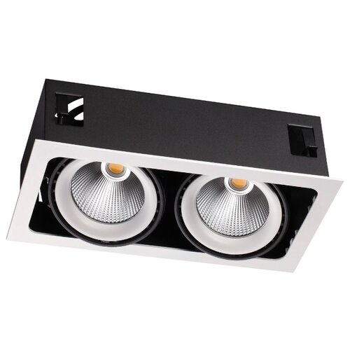 Встраиваемый светильник Novotech Gesso 358038 встраиваемый светильник novotech gesso 357582