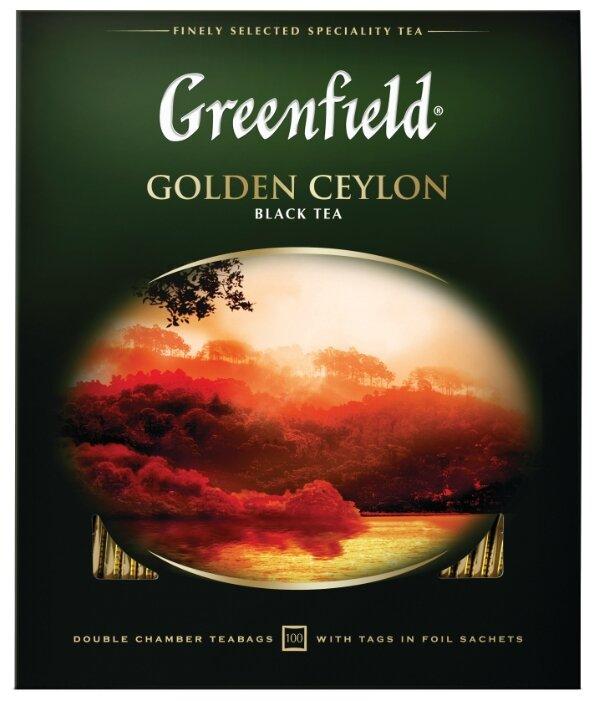 Чай черный Greenfield Golden Ceylon в пакетиках