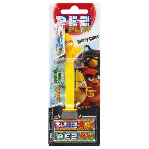 Игрушка с конфетами PEZ ассорти Angry Birds 17 г игрушка с конфетами pez вкус ассорти 70 г