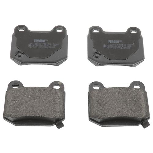 Фото - Дисковые тормозные колодки задние Ferodo FDB1562 для Mitsubishi, Nissan, Subaru, Infiniti (4 шт.) дисковые тормозные колодки передние ferodo fdb1639 для toyota subaru 4 шт