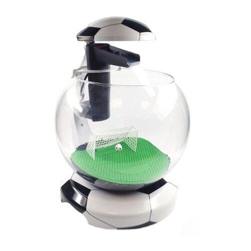 Аквариумный набор 6.8 л Tetra Cascade Globe Football черный/белый аквариумный набор 6 8 л tetra cascade globe белый