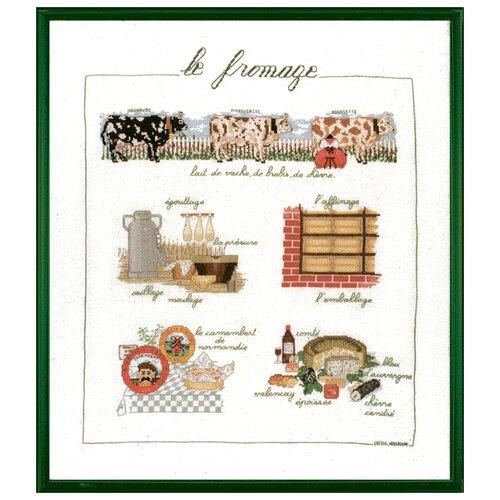 Купить Набор для вышивания: LE FROMAGE (Сыр) Le Bonheur des Dames, 40*46 1184, Наборы для вышивания