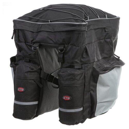 цена на Велосумка STG на багажник Х68726-5, серый