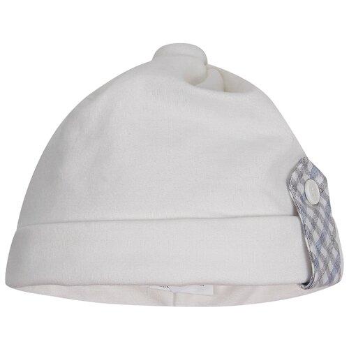 Шапка Aletta размер 46, белый шапка ultis размер 44 46 белый с красными цветами
