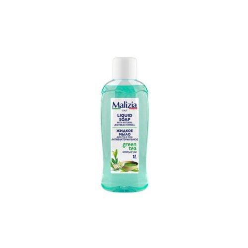 Жидкое мыло для рук и тела антибактериальное «Зеленый чай» торговой марки «MALIZIA»