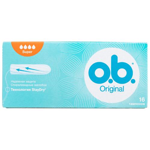 Купить O.b. тампоны Original Super 16 шт.