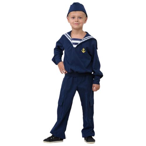 Купить Костюм Батик Матрос (5702), синий, размер 158, Карнавальные костюмы