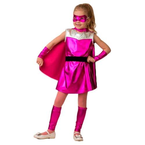 Купить Костюм Батик Супер Блестка Мультяшка (500), розовый, размер 122, Карнавальные костюмы