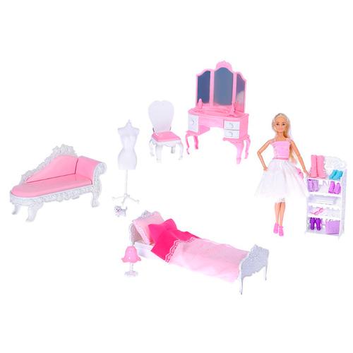 Кукла Anlily с набором мебели, 29 см, 99045 кукла anlily с одеждой 200170509