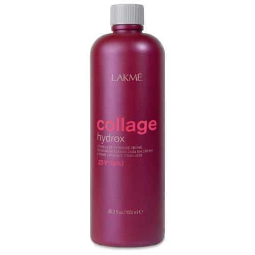 Фото - Lakme Collage hydrox Крем-окислитель, 6%, 1000 мл lakme collage hydrox крем окислитель 3% 1000 мл