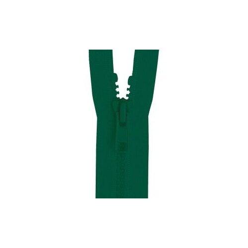 Купить YKK Молния тракторная разъемная 4335956/65, 65 см, зеленый/зеленый, Молнии и замки