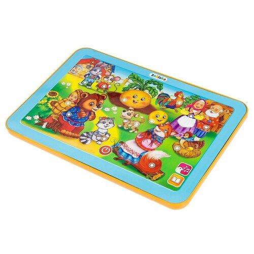 Купить Планшет Zabiaka Мои сказочки (3247073) голубой, Детские компьютеры