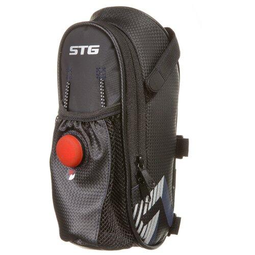 цена на Велосумка STG подседельная 131396, черный