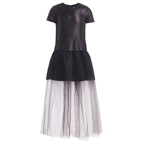 Платье Gulliver размер 158, черный платье gulliver gulliver gu015egibxz8