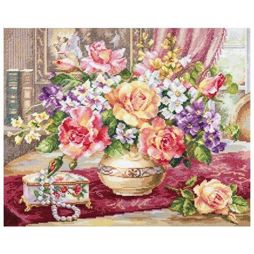 Купить Набор Розы в гостиной 39х33 Алиса 18295, Наборы для вышивания
