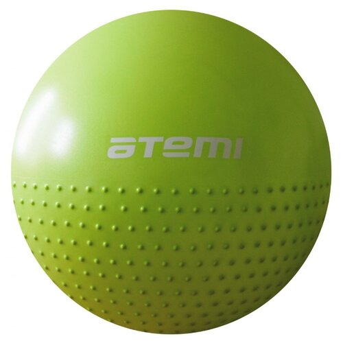 Фитбол ATEMI AGB-05-55, 55 см зеленый фитбол atemi agb 05 75 75 см фиолетовый
