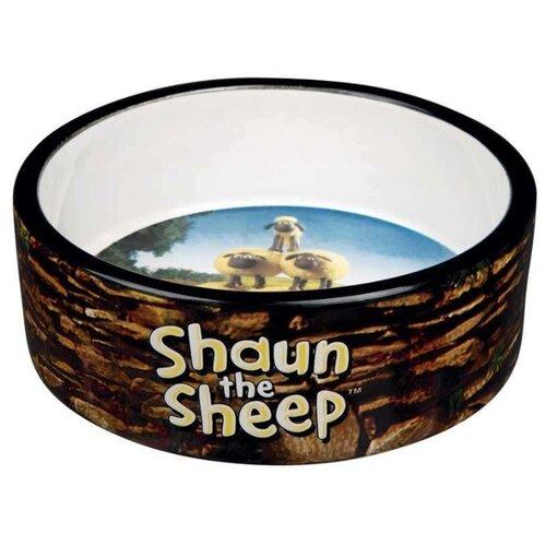 Миска TRIXIE Shaun the Sheep 12 см 300 мл коричневый