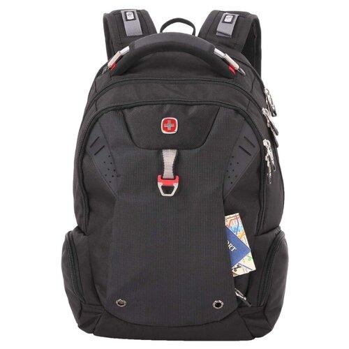 Фото - Рюкзак SWISSGEAR 15'' черный 34 л рюкзак swissgear 32x15x46 см 22 л черный