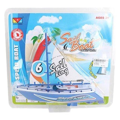 Яхта Shantou Gepai Sail King (311-83), голубой/белый внедорожник shantou gepai 6149d dt 20 см голубой белый