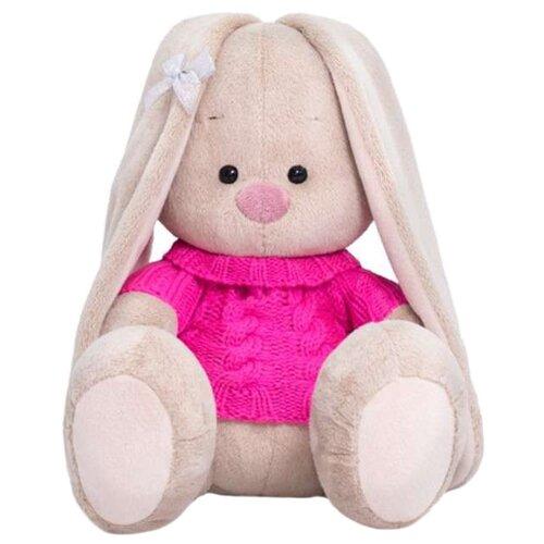 Фото - Мягкая игрушка Зайка Ми в розовом свитере 18 см мягкая игрушка зайка ми в лиловом 23 см