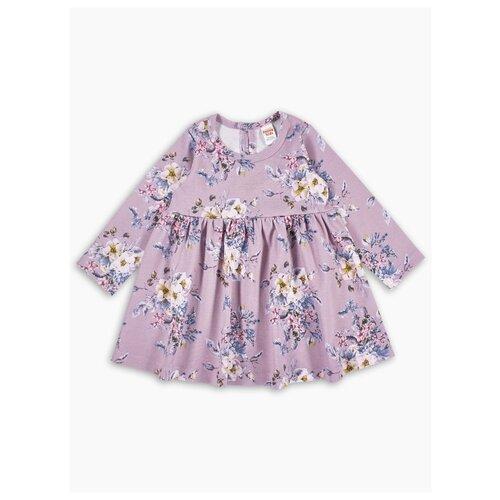 Платье Веселый Малыш размер 122, разноцветный2