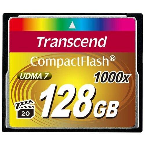 Фото - Карта памяти Transcend TS128GCF1000 карта памяти transcend ts128gcf800