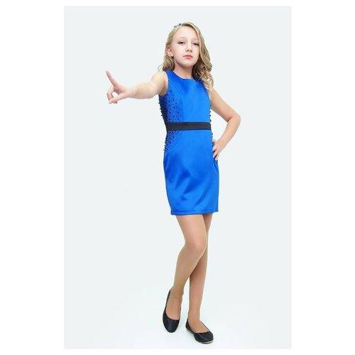 Платье Ladetto размер 38, электрик комплект платье болеро ladetto комплект платье болеро