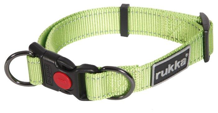 Ошейник для собак RUKKA Bliss Collar 20мм (30-40см) черный
