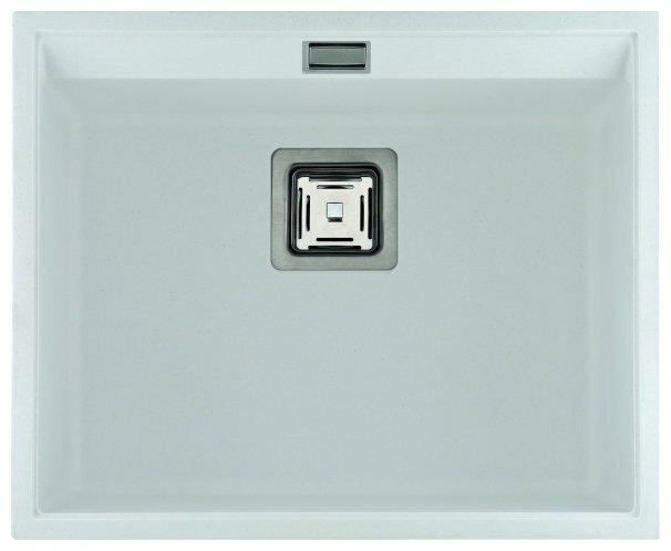 Врезная кухонная мойка AQUASANITA Delicia SQD100 55.5х45.5см искусственный гранит